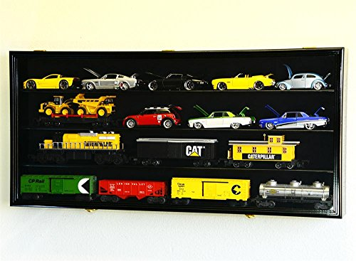 1/24 Scale Die-Cast Model Car Display Case Cabinet 98% UV Door Holds Up to 20cars, (Diecast Display Cabinet)