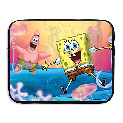 Style Spongebob Squarepants 13 And 15 Inch Water-Resistant Briefcase Carrying Bag For Acer/Asus/Dell/Fujitsu/Lenovo/HP/Samsung/Sony/Toshiba/Ipad