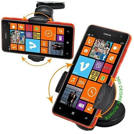 Fm Online - 360 grados sujetador para el coche para nokia lumia 625: Amazon.es: Electrónica