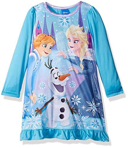 Disney Toddler Girls' Frozen Elsa Nightgown, Unleashed Magic, 4T