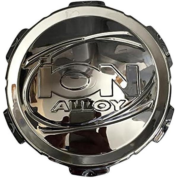 ** Ion 117 Chrome Wheel Rim Center Cap C10117-CAP