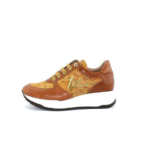 dettagliare negozio online negozio outlet ALVIERO MARTINI 1°Classe Linea Junior N0045 Sneakers Scarpe Donna ...