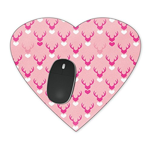 Cupid Love Mousepad - Heart Mousepad - Neoprene for Optical & Laser Mouse