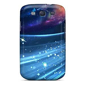 New Snap-on Jamiemobile2003 Skin Cases Covers Compatible With Galaxy S3- Abstract Space