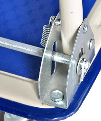 New Platform Cart Dolly Folding Foldable Moving Warehouse Push Hand Truck by BestOffice (Image #3)
