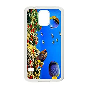Intriguing Sea World Hight Quality Plastic Case for Samsung Galaxy S5