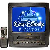 "Symphonic 13"" TV/VCR Combo + 12 Disney VHS Movies"