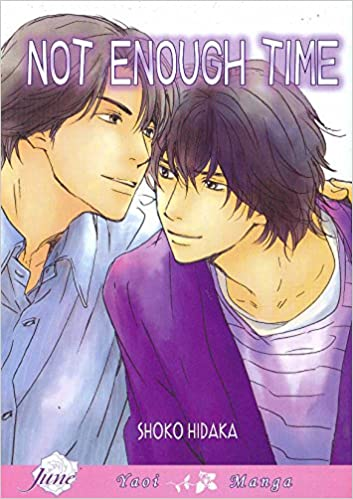 Not Enough Time Yaoi Shoko Hidaka 9781569708170 Amazon Books