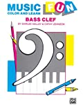 Music Fun Color and Learn: Bass Clef
