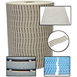 Bene Domo Ultima Modular Connectable Sauna Pool Spa Bath Bathroom Shower Non Slip Wet Area Mat Light Beige (58x60cm) by Bene Domo