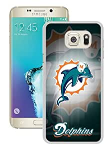 WOSN Miami Dolphins 19 White Case Cover for Samsung Galaxy Note5 Edge
