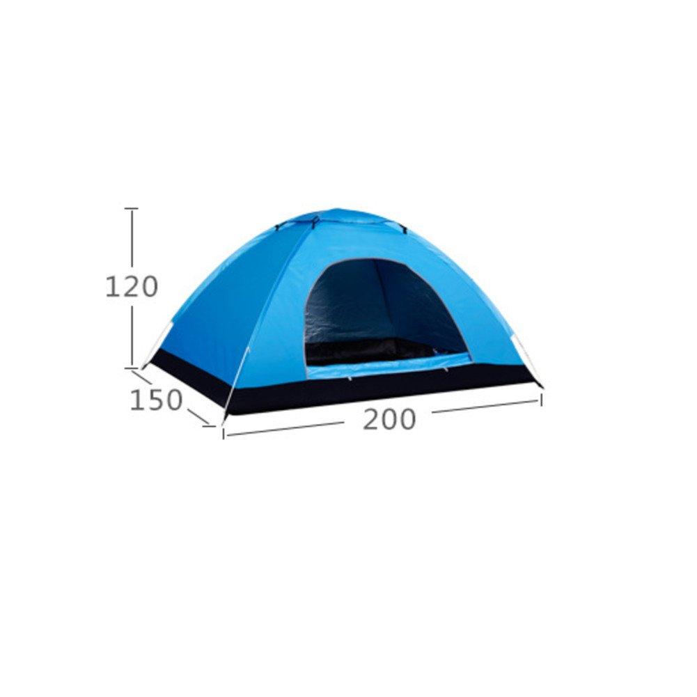 Outdoor-Camping-Zelt / Automatische Geschwindigkeit Öffnen Zelt / Wasserdicht Feuchtigkeit Sonnenschutz Camping Doppel-Reise-Zelt