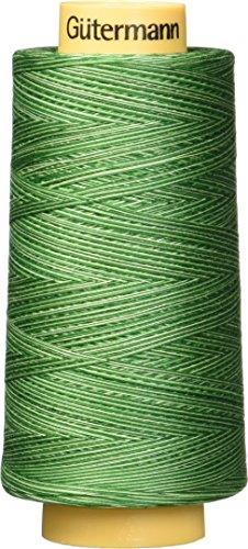 - Gutermann Natural Cotton Thread Variegated, 3281-Yard, Foliage Green
