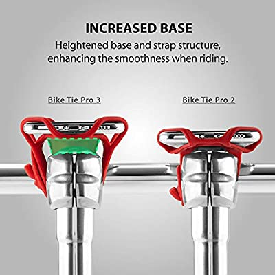 Bone Bicycle Phone Mount Pro 3, Universal Bike Handlebar Holder (3rd Gen Pro) Compatible with iPhone 11 Pro Max X 8 Plus, Galaxy S10 S9 S8 Edge Note Series, Fits Devices 5.8