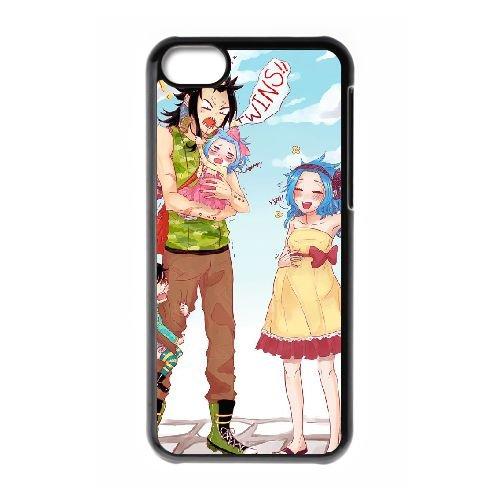 Fairy Tail 003 coque iPhone 5C Housse téléphone Noir de couverture de cas coque EOKXLLNCD14991