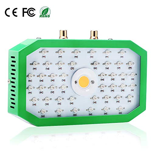OFADD 1000W COB Led Grow Light Full Spectrum Plant Light Growing Lamps with Veg&Bloom Switch for Greenhouse Hydroponic Indoor Plants Veg and Flower(Dual Chip)