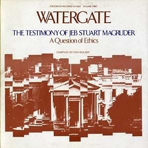 Watergate.2: Testimony