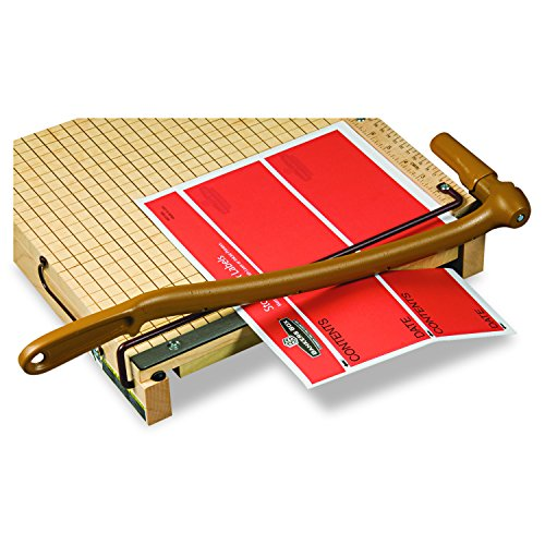 Swingline Paper Trimmer, Guillotine Paper Cutter, 12'' Cut Length, 15 Sheets Capacity, ClassicCut Ingento (1132) by Quartet (Image #1)