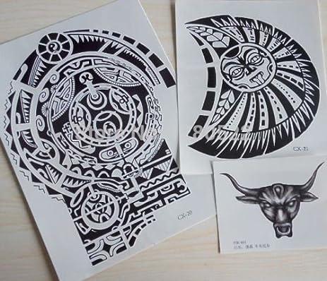 amazon com kotbs 3 sheets set tattoos dwayne johnson star 3d big