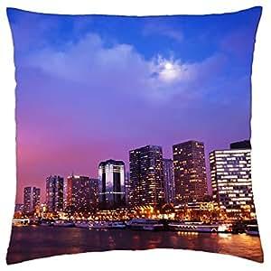Noche en París–Funda de almohada manta (18