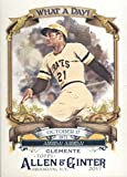 2017 Allen and Ginter What a Day #WAD-86 Roberto Clemente Pittsburgh Pirates Baseball Card