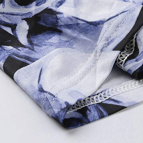 Sexy Lingerie Body Design Sleepwear V Scollo Maniche Set Tie Con up Corte moda Blu A Donna Donna qrpHOtnAp