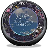MightySkins Skin for Amazon Echo Spot - Midnight Blossom | Protective, Durable, and Unique Vinyl Decal wrap Cover | Easy to Apply, Remove, and Change Styles | Made in The USA