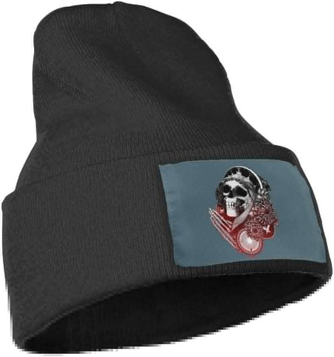Diablo Skull Slouchy Beanie Hats for Women Men Warm /& Stylish Skull Cap