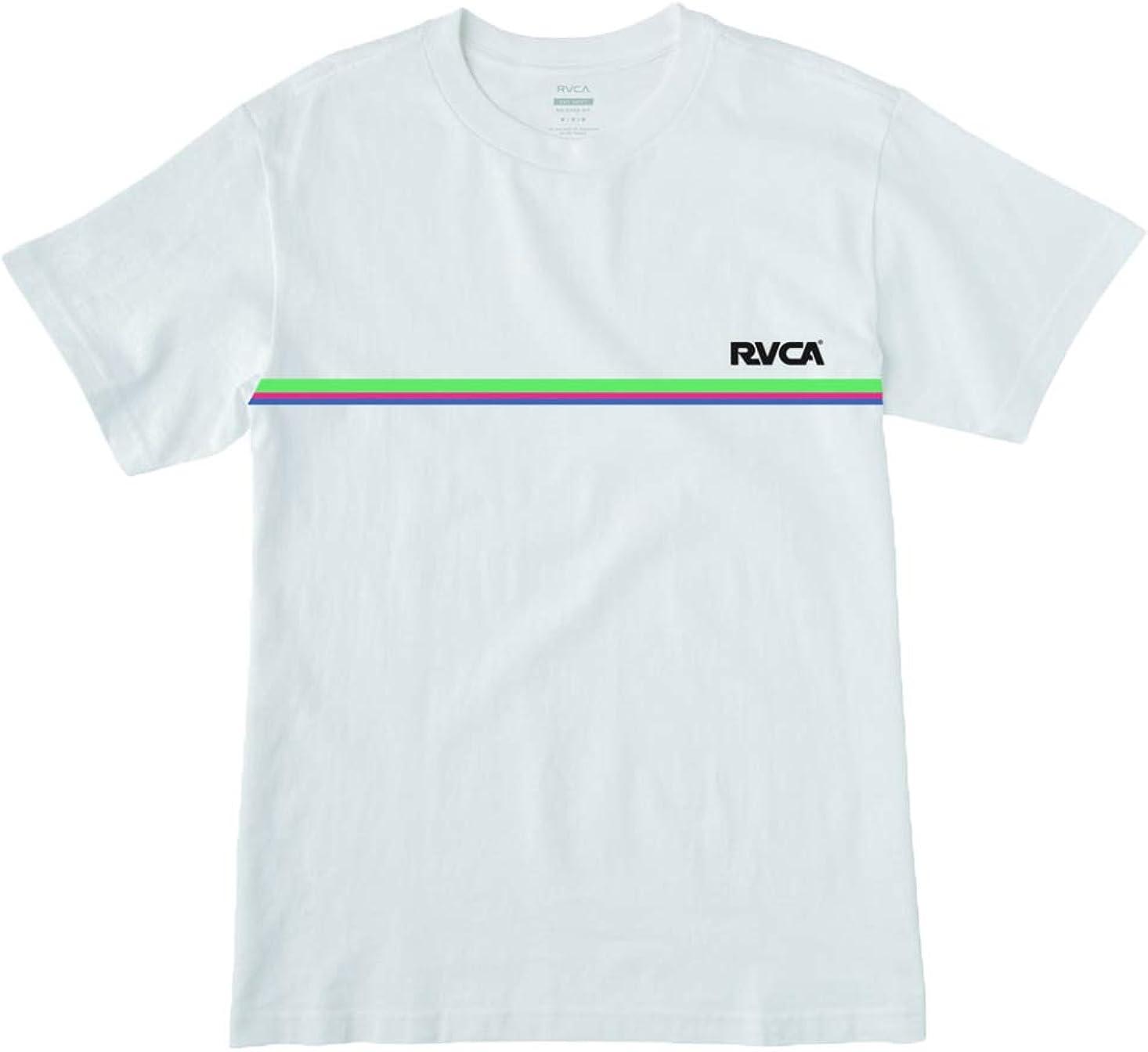 RVCA Cannonball - Camiseta para hombre - Blanco - X-Large: Amazon.es: Ropa y accesorios