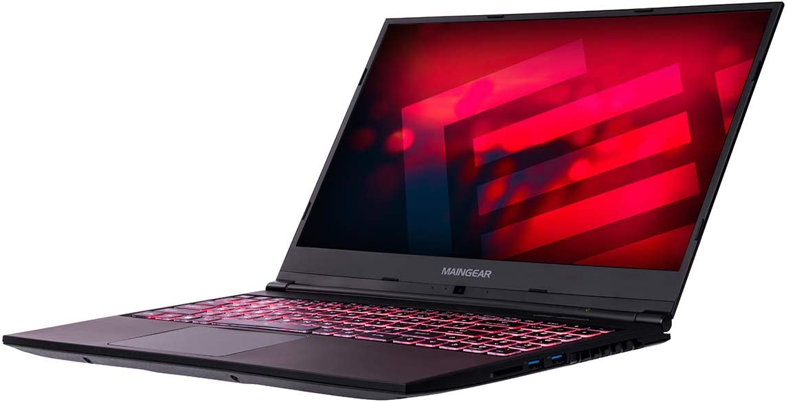 MAINGEAR Vector 2 Gaming Laptop, Core i7-10750H CPU, 16GB DRAM, 1TB SSD, RTX 2060 Max-P