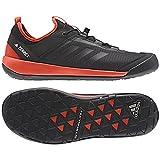 adidas Men Terrex Swift Solo Outdoor Shoes, Black/Black/Energy 11.5