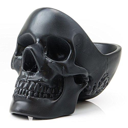 SUCK UK Skull Design Desk and Room Tidy, (Halloween Sucks)
