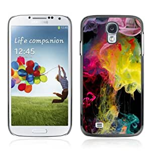 Designer Depo Hard Protection Case for Samsung Galaxy S4 / Colorful Smoke