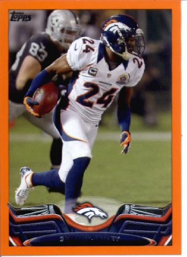 - 2013 Topps Orange Parallel Football Card Champ Bailey Football Card #72/82) Champ Bailey Mint Condition