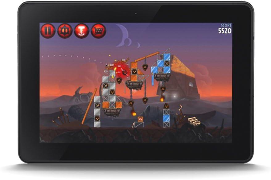 Kindle Fire Hdx 7 Zertifiziert Und Generalüberholt 17 Cm 7 Zoll Hdx Display Wlan 16 Gb Mit Spezialangeboten 3 Generation Amazon Devices