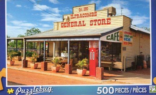 General Store in Ilfracombe Australia - Puzzlebug - 500 Pc Jigsaw Puzzle - - Stores Australia