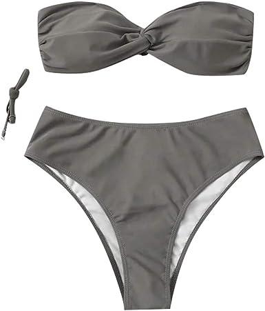 Bañador Cremallera Frontal Traje de Baño de Una Pieza para Mujer Mujer Bikini Push up con Acolchado | Brasileño | Trajes de Dos Pieza | Playa | Sexy | Vintage | Tamaño: