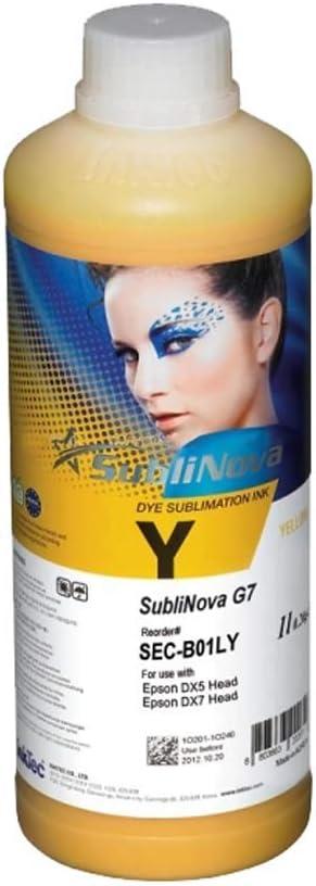 InkTec 1L SubliNova G7 SEC Dye Sublimation Inks US Stock