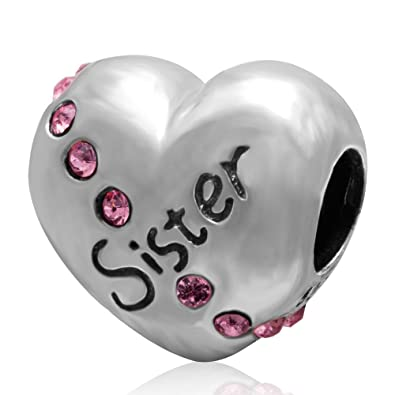charm pandora amore di sorella