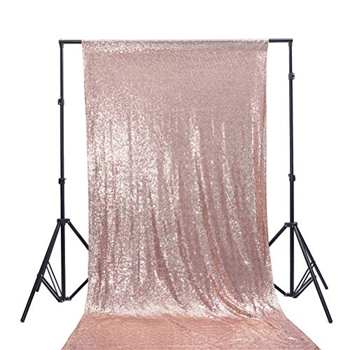 Guy Makeup Tutorial For Halloween (TRLYC 4Ft7Ft Rose Gold Sequin Backdrop Fabric Party Wedding Photo Booth)
