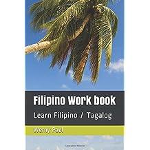 Filipino Work book: Learn Filipino / Tagalog (Midianpress)