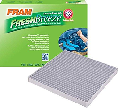 FRAM CF10374 Fresh Breeze Cabin Air Filter with Arm & Hammer