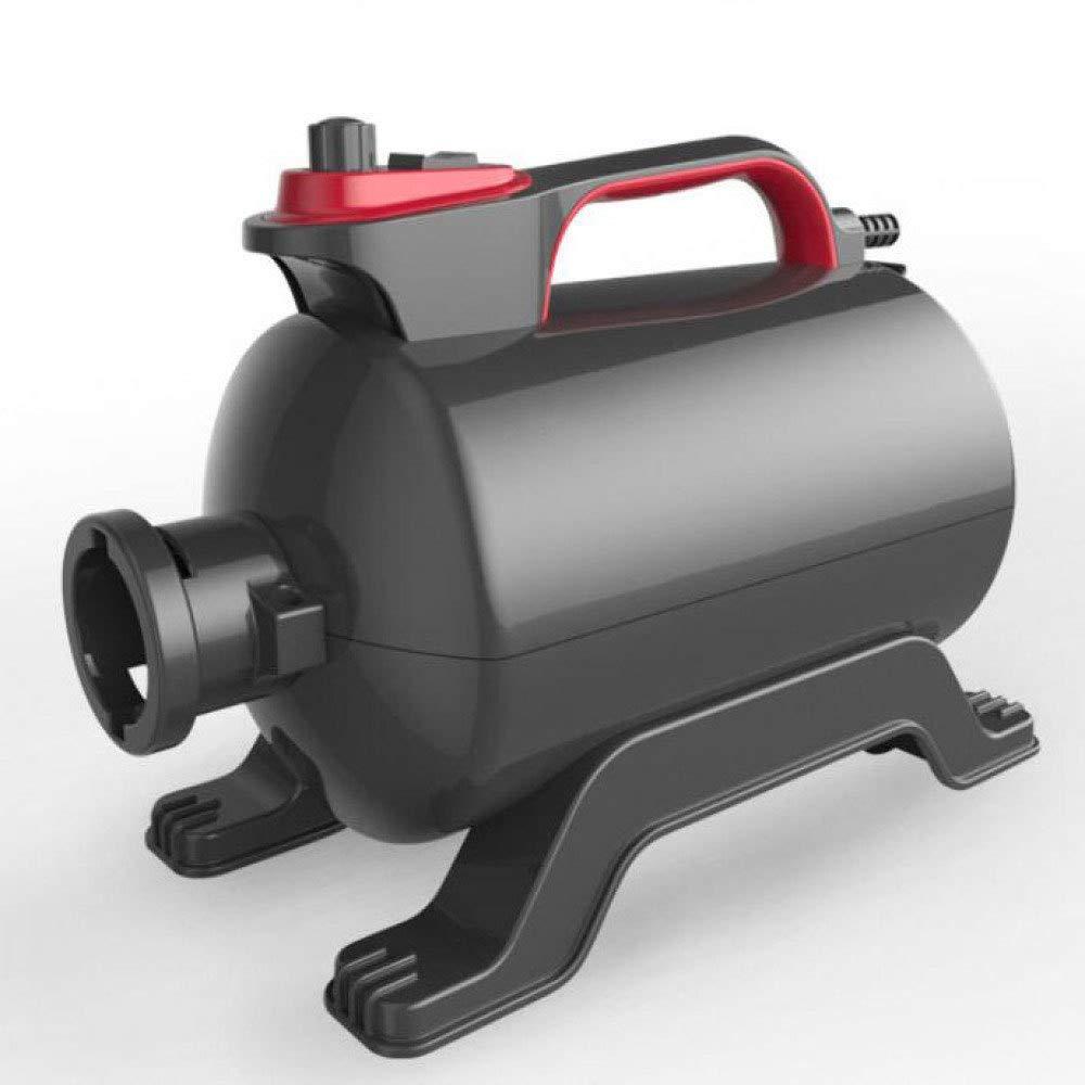 Black CWCFJ Variable Speed Pet Grooming Hair Dryer Water Blower 2800W Dog-Specific Blower,Black