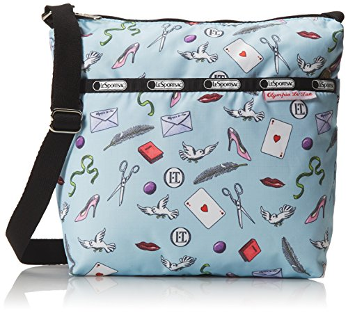 Cleo Classic Crossbody Small Blue Letters Love LeSportsac TEqwdwU