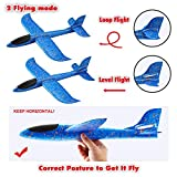 JOYIN 8 Pack 2 in 1 Foam Airplanes and Parachute