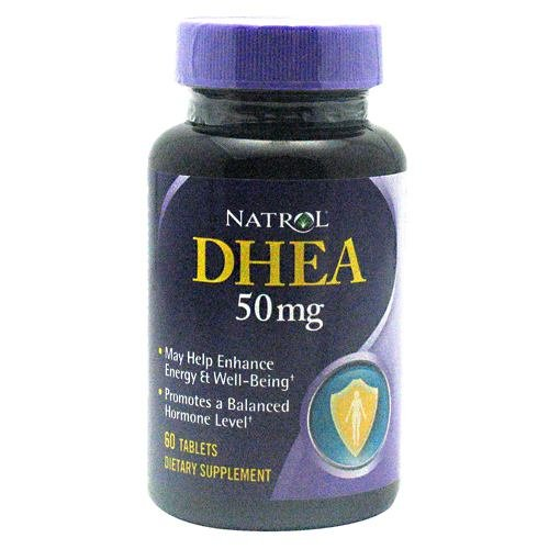 Natrol DHEA 50 mg Tablets 60 Tablets (Pack of 6)