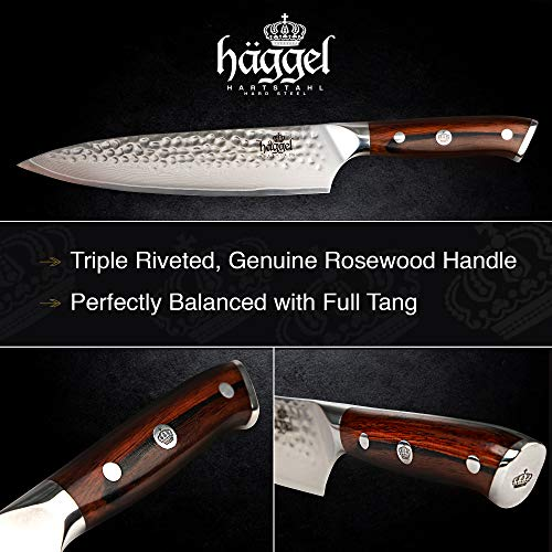 Finders 8 Professional Chef Knife Damascus Steel Vg10