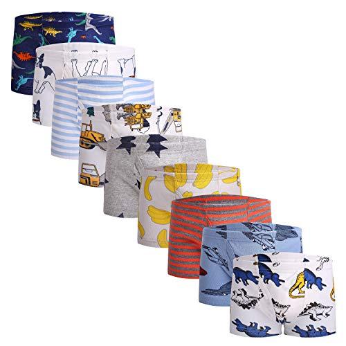 Children Baby Soft Cotton Kids Underwear Cartoon Boys Boxer Briefs Short