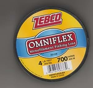 Zebco omniflex monofilament fishing line by for Amazon fishing line
