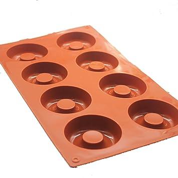 Molde Para Pastel De Silicona Donut Angel Circle Molde Para Magdalenas Hecho A Mano Con Budín De Jabón: Amazon.es: Hogar
